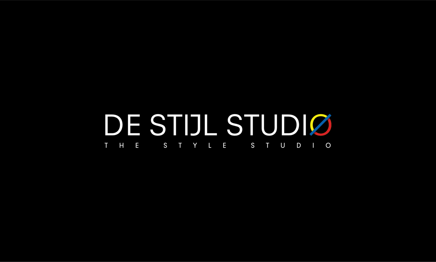 De Stijl Studio Logo Design Black
